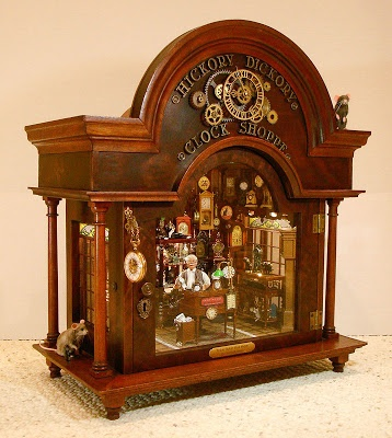 Hickory Dickory Clock Shoppe by Connie Sauve