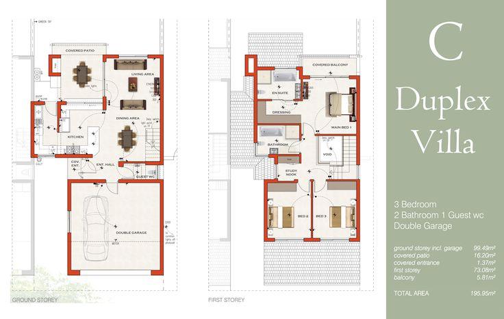 Floor Plans | Villa Sao Pedro