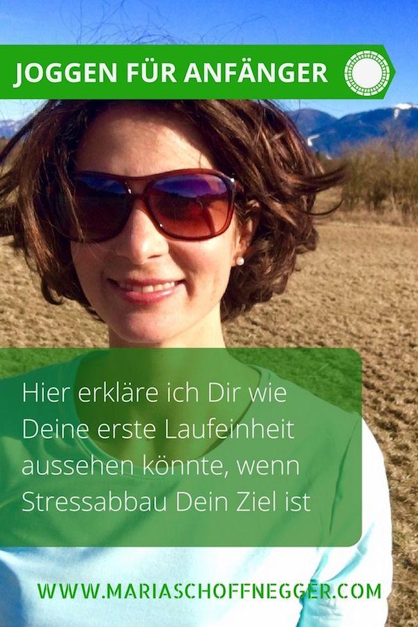 Joggen für Anfänger: Hier in diesem Artikel zeige ich Dir, wie Du mit dem Laufen beginnen kannst um regelmäßig Deinen Stress abzubauen.