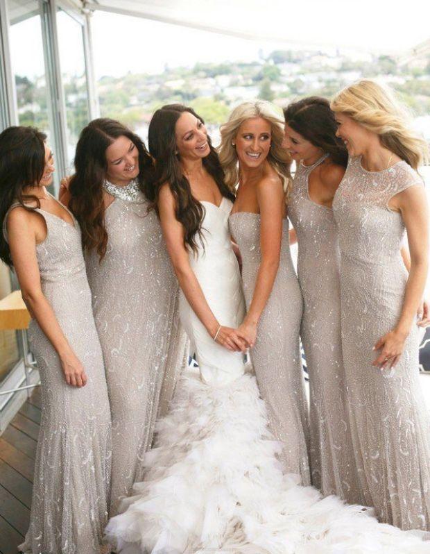 Silver Bridesmaid Dresses, Sexy Bridesmaid Dresses, Sequin Bridesmaid Dresses, Long Bridesmaid Dresses, Silver Sequin Bridesmaid Dresses, Silver Sequin dresses, Sexy Long Dresses, Sleeveless Bridesmaid Dresses, Floor-length Bridesmaid Dresses