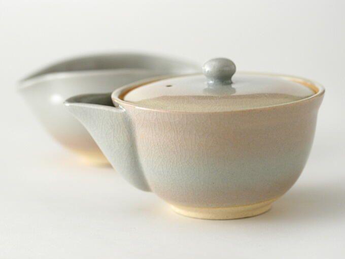 AKEBONO Hohin Set (handcrafted Tea Set) - JAPANESE GREEN TEA | HIBIKI-AN