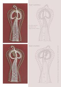 Lovely bobbin lace patterns  -- I have one of her books.  Predlohy na paličkovanie Katky Búranovej