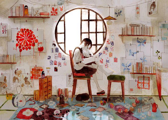 舟岡 | 30 Painfully Talented Artists You Should Follow On Pixiv... the detail is extraordinary !
