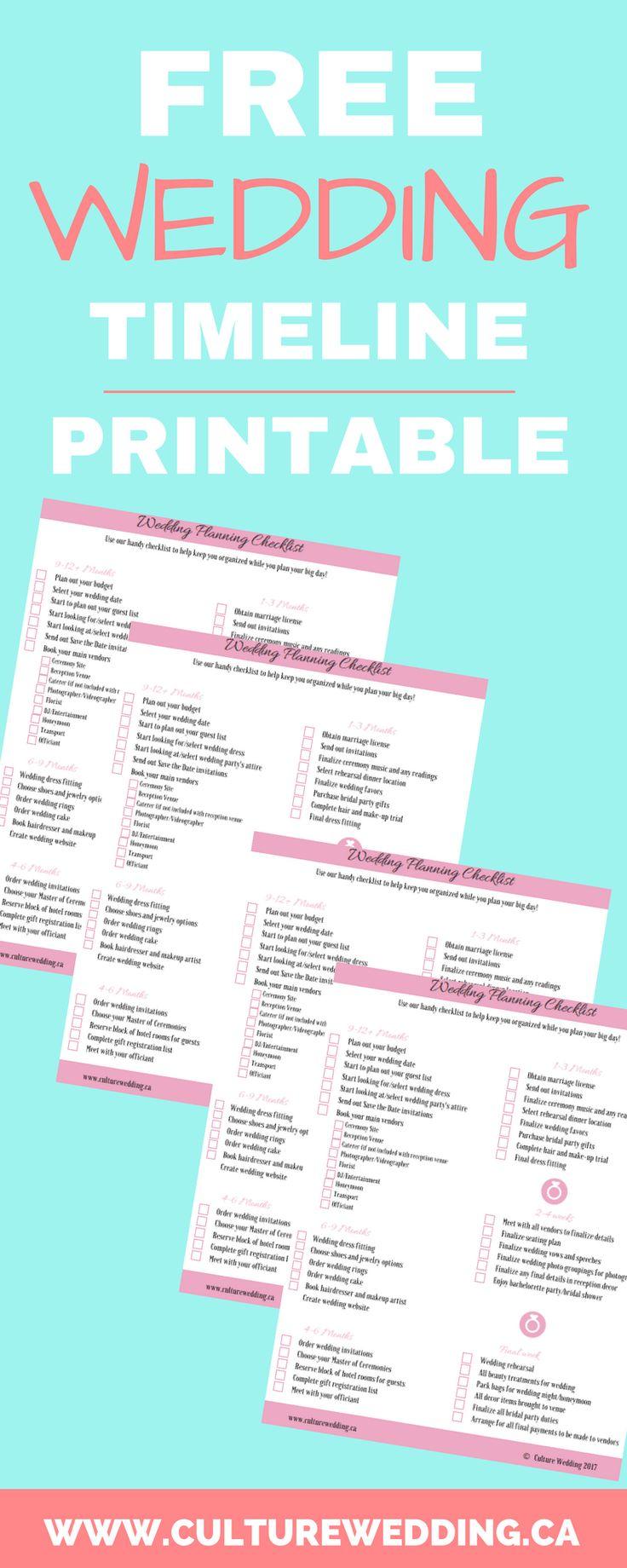 Pinterestuteki en iyi  Wedding Planning Checklist görüntüleri