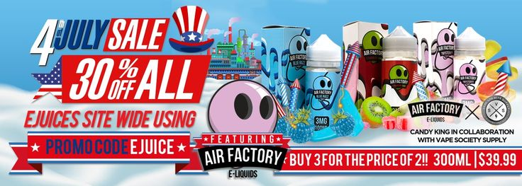 With so many different vape juice manufacturers out there all claiming to be the best, it can be quite a challenge to know which company deserves your loyalty by delivering consistently high-quality juices that come in the very best flavors available. Air Factory E Liquid by Hold Fast Vapors...