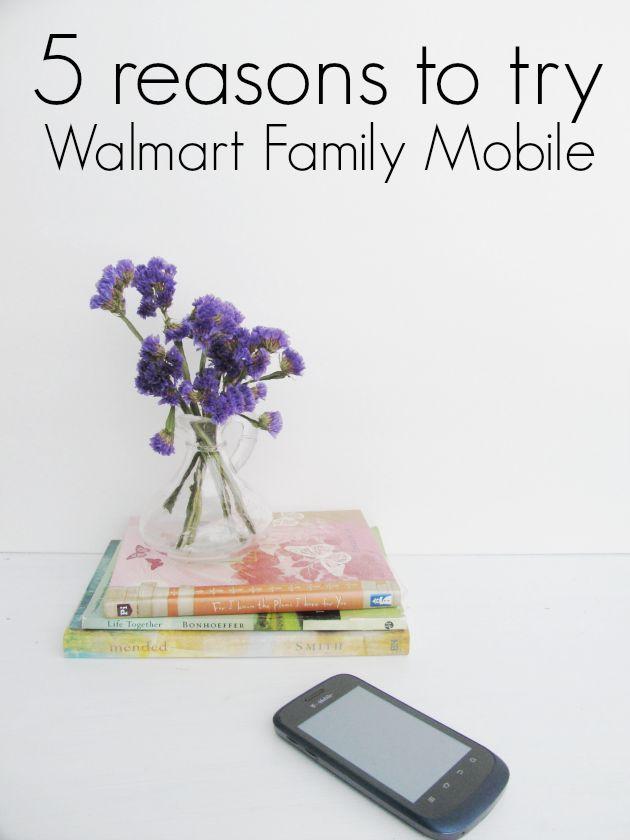 Top 5 reason to choose Walmart #FamilyMobile #SoFab #shop