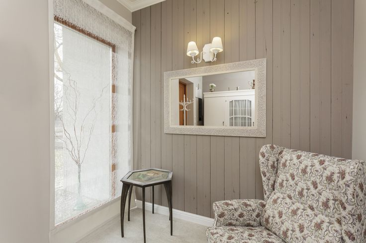 Wood Effect Wallpaper Adds Character To This Cozy Living Room Get The Look Here