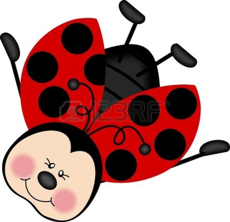 Stock photo ladybugs dibujos de mariquitas mariquitas y decoraci n de mariquita - Dessin cocinelle ...