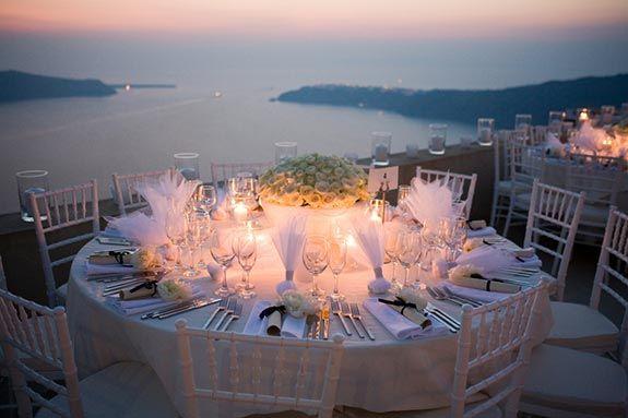 A Wedding in Greece via @One Stylish Bride blog
