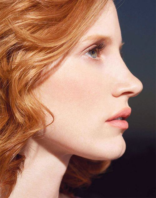 Jessica Chastain photographed by Andrew Macpherson ~