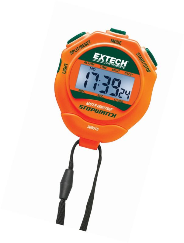 Stopwatches 166149: Extech Instruments 365515 Stopwatch Clock With Backlit Display -> BUY IT NOW ONLY: $33.1 on eBay!