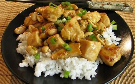 Cómo preparar pollo Kung Pao