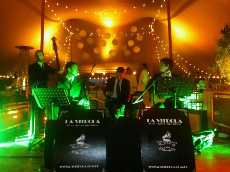 Nuestra Hawaiian band este fin de semana en el matrimonio de Esteban y Maria Juliana.