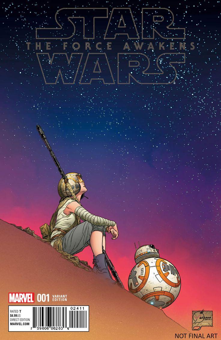 Marvel dévoile des couvertures variantes pour la mini-série The Force Awakens