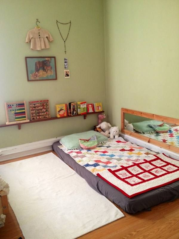 Print of Nice Toddler Floor Beds
