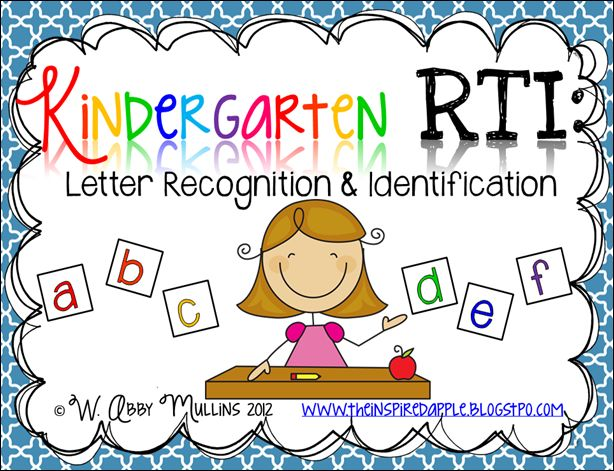 The 48 best images about Kindergarten Alphabet Recognition on ...