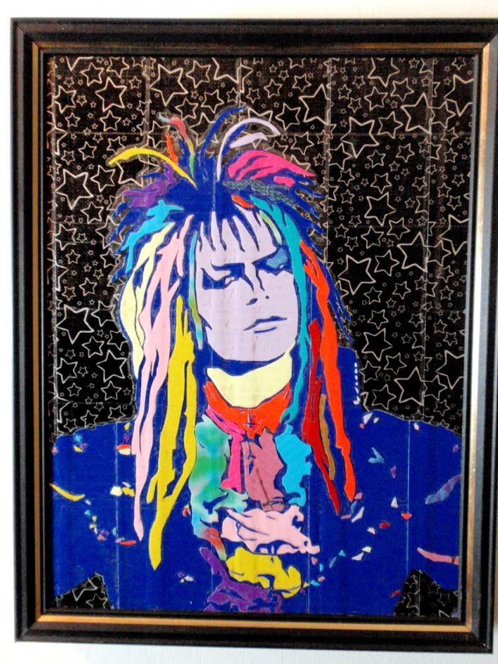 duck tape art painting duct tape painting art jareth the