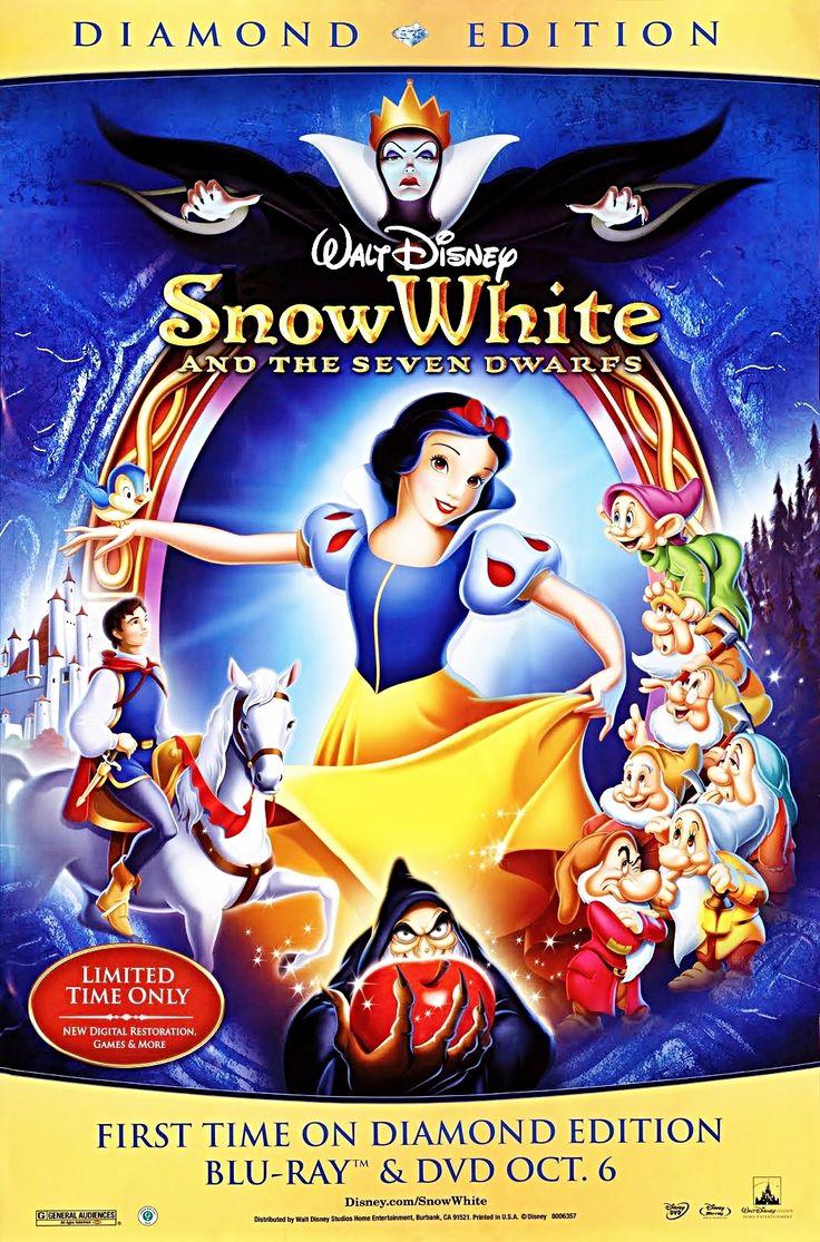 Dit is een animatiefilm met veel creepy scenes, voor mij is de gebruik van silhouttes heel nuttig en vooral het scene waar de heks dood gaat.  Name: Snow white Year: 1937 Creater: Walt Disney
