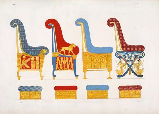 Mobilier din Egiptul Antic
