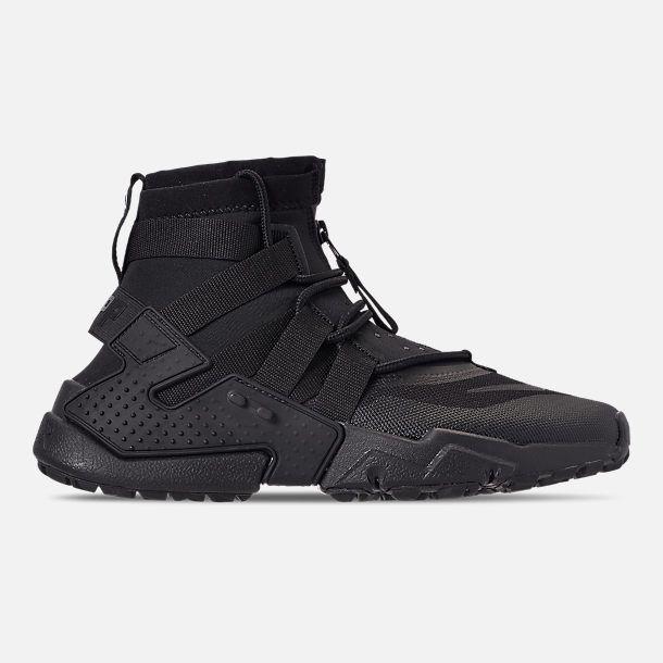 Mens Nike Huarache Gripp Casual Black//Laser Orange//Indigo Force//White AO1730 006