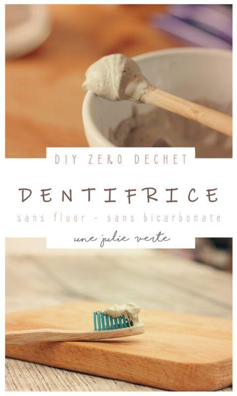 Dentifrice maison (sans bicarbonate ni fluor)