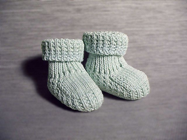 ad00240cd Baby Booties Knit Pattern Ravelry