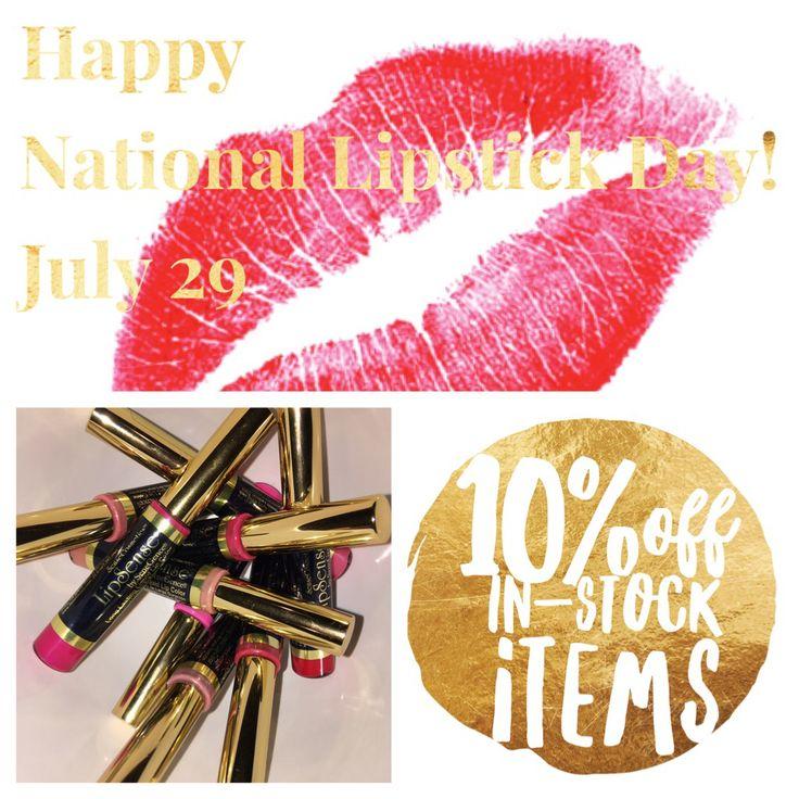 National Kiss And Makeup Day: National Lipstick Day, LipSense Distributor 198827