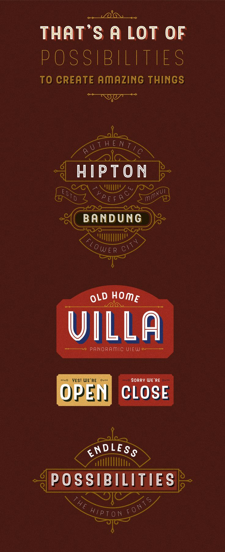 The Hipton Font on Behance