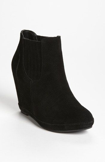 BP. 'Kellie' Wedge Bootie | NordstromNordstrom 99 95, Comfortable Shoes, Fall Shops, Bp Heard, 3Shoes Bags 3, Wedges Booty, Nordstrom Thes, Comforters Shoes, Black Wedges