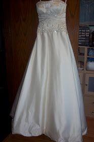 Sew Kansas: Wedding Dress Alterations-How to shorten a dress with horsehair braid
