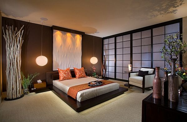 Gorgeous Asian theme bedroom with contemporary style 10 Tips To Create An Asian Inspired Interior