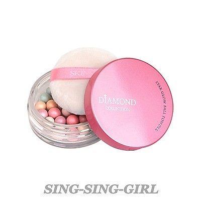 SKIN79 Diamond Collection Star Glow Ball Powder 14g Highlight + FREE GIFT