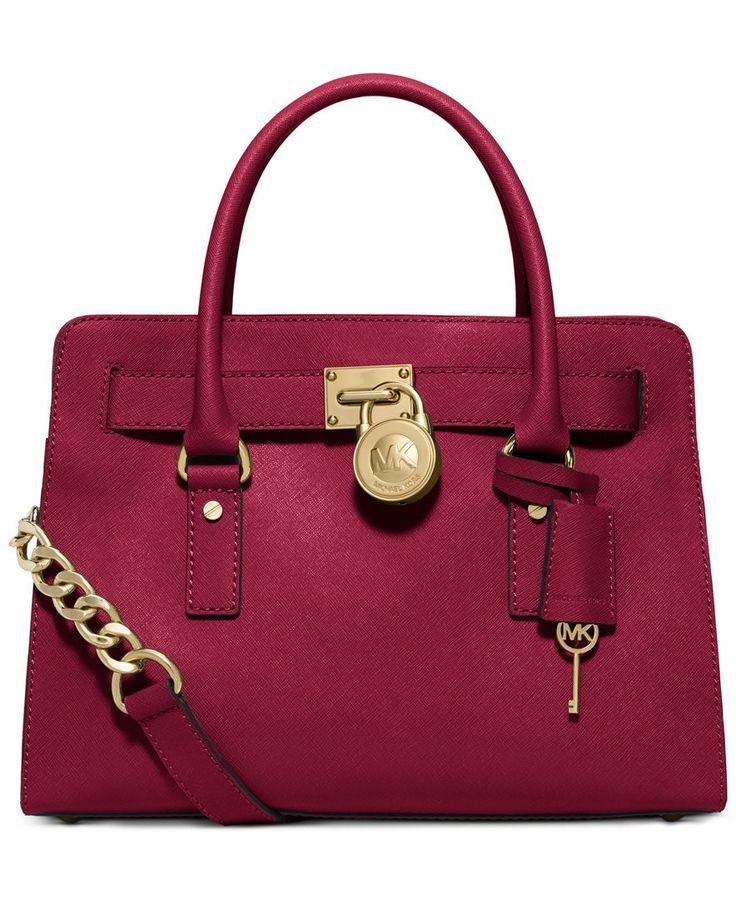 TEAL Michael Kors Hamilton Saffiano Leather East West Satchel - Handbags \u0026  Accessories - Macy\u0027s