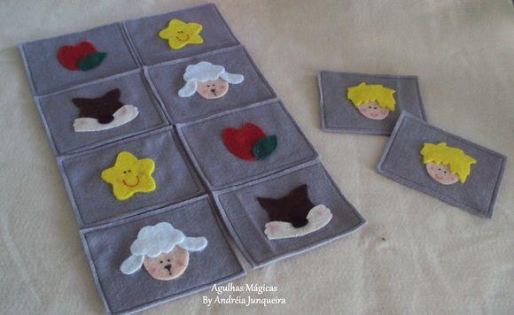 Jogo da Memória Pequeno Príncipe | Agulhas Mágicas | 36A22F - Elo7
