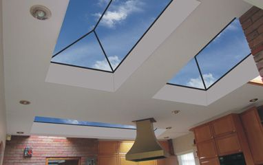Vision Rooflights (if not flat)