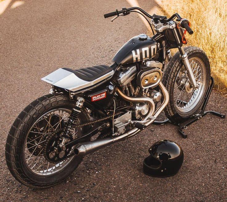 Harley 883 Hooligan Flat Tracker Flat tracker, Harley