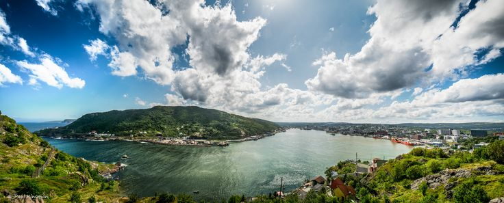 https://flic.kr/p/oy5qF5 | Harbour Pano | The Narrows and St. John's Harbour, Newfoundland, Canada.