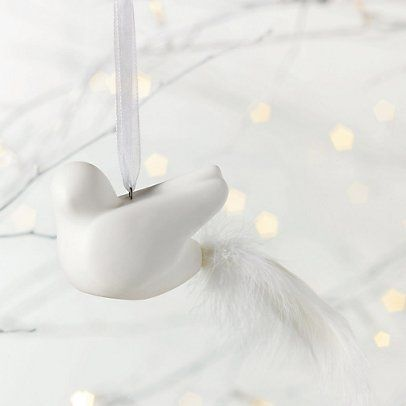 Porcelain Bird Decoration | The White Company