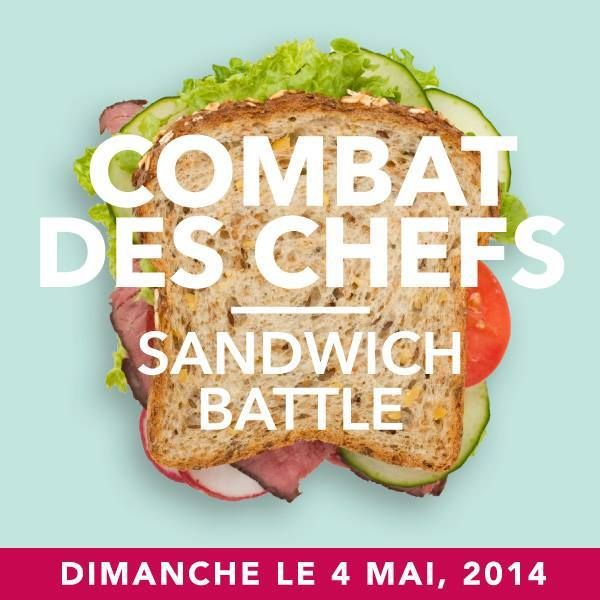 Combat des chefs | Sandwich battle #EAT2FEED Table of Hope