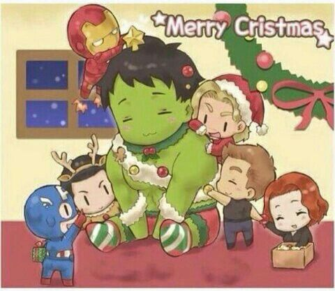 Christmas with the Avengers