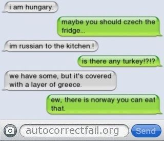 Multilingual autocorrect | Autocorrect Fail - Hilarious Auto Correct blunders and funny texts and messages from your mobile phone!
