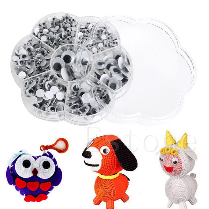 Diameter:4mm / 5mm / 6mm / 7mm / 8mm / 10mm / 12mm. Washers can prevent the eyes out of the dolls. 1 x Set of Puppets Doll Plastic Eyes(700PCs Total). Color: As shown in pic. Due to the difference between different monitors, the picture may not reflect the actual color of the item. | eBay!