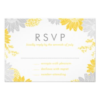 Elegant spring and summer floral garden wedding invitation RSVP reply card with a mix of modern fonts and a bright colorful illustrated flower border. Click the CUSTOMIZE IT button to customize fonts, move text around and create your own unique one of a kind design. #rsvp #wedding #reply #cards #reply #wedding #rsvp #cards #wedding #modern #floral #flowers #spring #summer #floral #wedding #invitations #summer #wedding #spring #wedding #modern #wedding #invitations #elegant #feminine ...
