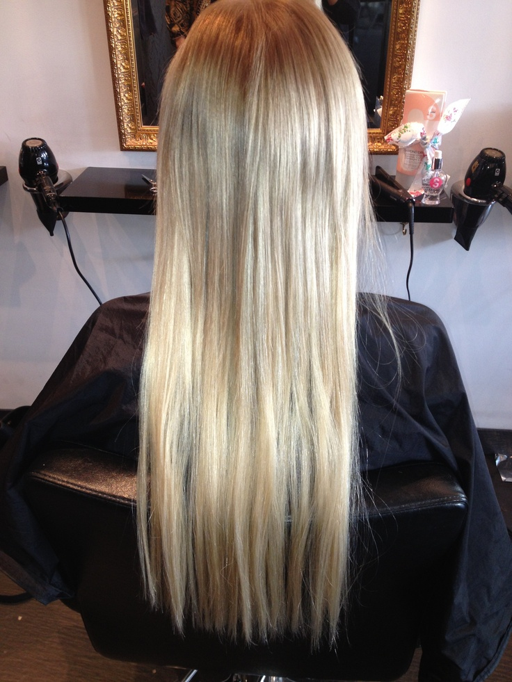 After photo of hair extensions!  Inquires 02 9314 1220 x