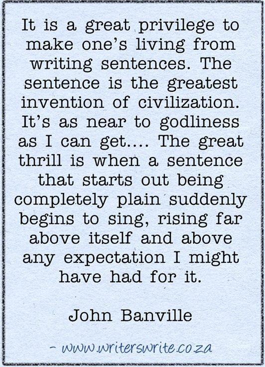 Quotable - John Banville