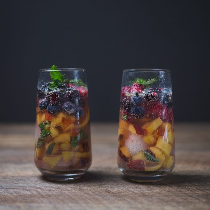 alcohol free fruit spritzer