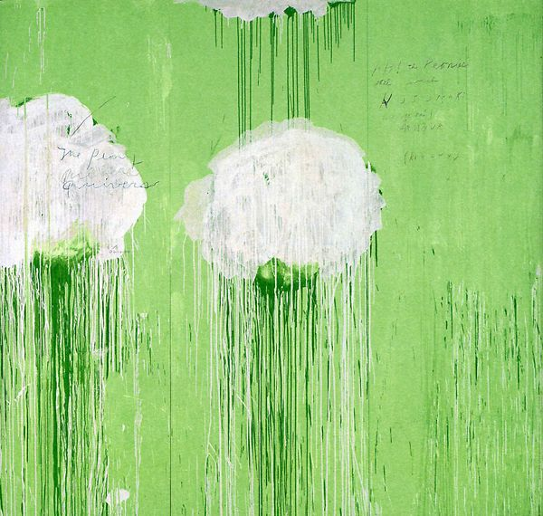 Cy Twombly. From the book, Cy Twombly: The Natural World (The Art Institute of Chicago), Yale University Press