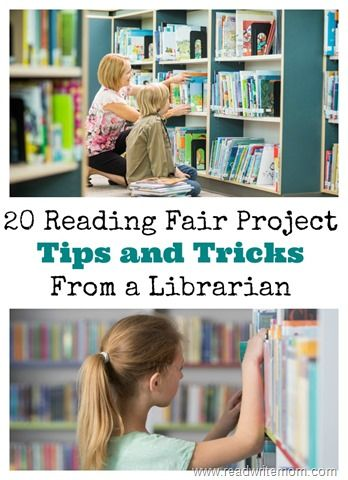20 reading fair project tips and tricks from a librarian will help you get ideas on how to put together your reading fair project board and present it well.