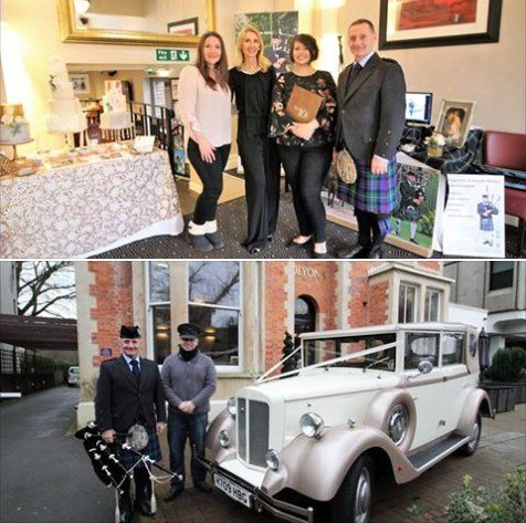 Gr8 day y'day at No.10 Cardiff #WeddingShowcase.  Selected suppliers incl:  Mio Photography, The Vale Cake Boutique,  Jan Lima Flowers, Dresses by Timeless Elegance Bridal, Dresses of Elegance Cardiff,  Music by C.B Mobile Disco, Fairytale Carriages Ltd & Bagpiper in Wales John Campbell :)  ThnkU visitors who came to see us & Emily & Jan for their hospitality :)  #SouthWales #Weddingmusic #Bagpipes #Cardiff #NewportWales #Bridgend #Chepstow #Swansea #Hereford #Gwent #Cowbridge…
