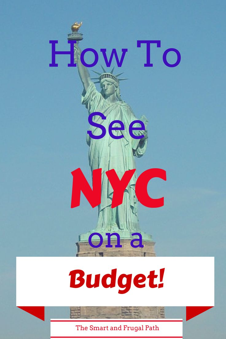 See NYC on a budget? Yes, you can! Museums, shows, sightseeing, find out how to do it the smart and frugal way.